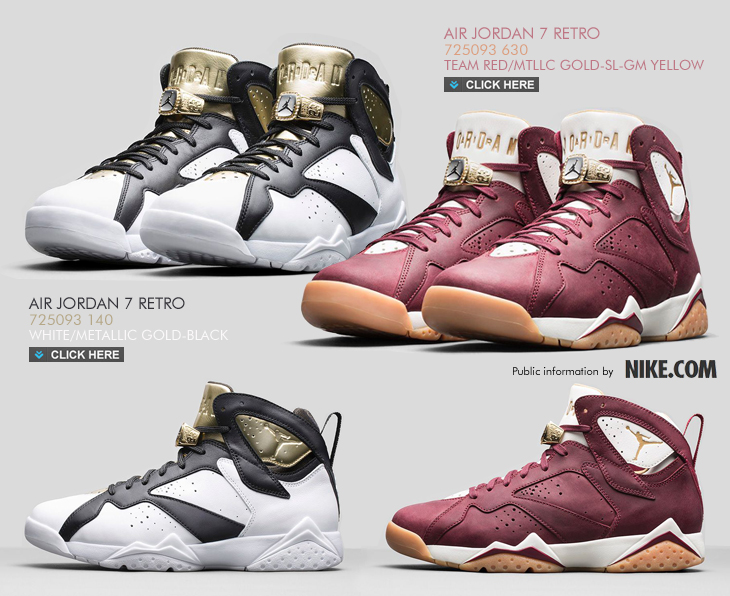 new style af03a 74f77 AIR JORDAN 7 RETRO   CELEBRATION COLLECTION